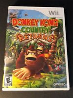 Donkey Kong Country Returns [ First Print ]  (Wii) NEW