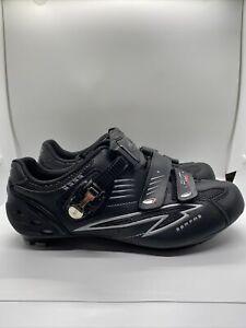 SERFAS Pilot Carbon Composite Black Womens Cycling Shoes Size 11