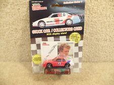 New 1989 Racing Champions 1:64 NASCAR Bill Elliott Melling Plastic Tire Red #9