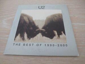 U2 DVD PROMO 2002 BEST OF 1990 - 2000 NEW WAVE BONO PLEASE BEAUTIFUL DAY HISTORY
