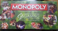 NEW the great canadian monopoly gaming corporation 30th anniversary edition