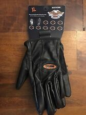 NEW! Harley-Davidson Full Finger Leather Gloves X-LARGE - #98305-12