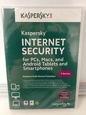 KASPERSKY INTERNET SECURITY 2017 3PC 6 MONTHS SUBSCRIPTION EXPIRES 02/17/2018