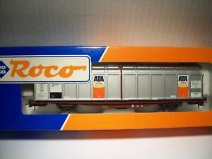 """Roco 46936 Schiebewandwagen """"ATA citro"""" DB Epoche IV Neu & OVP"""