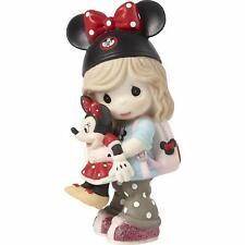 Precious Moments Disney Showcase Girl Minnie Mouse Fan Figurine #191063