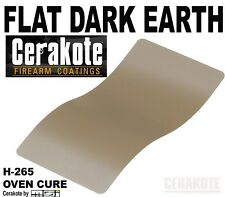 Cerakote Flat Dark Earth H-265 FDE Firearm Paint Finish, Oven Cure - 45 ml Kit