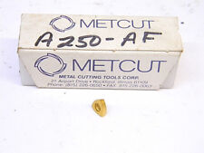 NEW SURPLUS 15PCS. METCUT A250-AF CARBIDE INSERTS