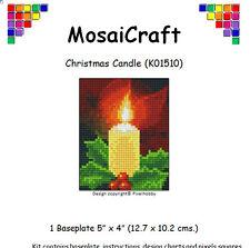 MosaiCraft Pixel Craft Mosaic Art Kit 'Christmas Candle' Pixelhobby