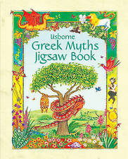 Greek Myths (Usborne Jigsaw Books S.),  , Acceptable, FAST Delivery