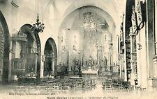 Carte SAINT GENIEZ D'OLT et d'AUBRAC Intérieur de l'église