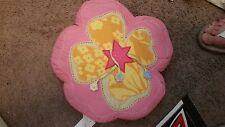 "Pottery Barn Kids ""Island Surf - Pink Hibiscus"" Throw Pillow"