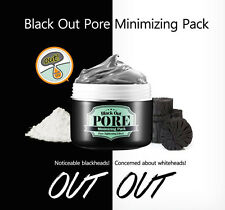 Secret Key BLACK OUT PORE MINIMIZING PACK - PORE TIGHTENING Close Face Pores 100