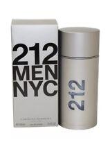 212 MEN NYC BY CAROLINA HERRERA - MEN'S PERFUME* 3.4 OZ EDT *COLOGNE* NIB SEALED