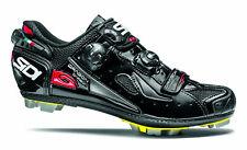Sidi Dragon 4 Carbon SRS Vernice MTB Bike Shoes Black