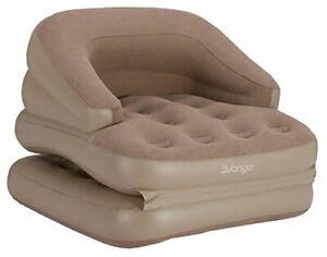 Vango Inflatable Single Sofa Bed - Nutmeg
