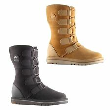 Sorel Suede Lace Up Boots for Women