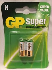 NEW GP SUPER ALKALINE BATTERY SIZE N 2 PACK USA SELLER FREE SHIPPING