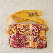 Vera Bradley Bali Gold Travel Belt Bag Fanny Pack Waist Pack Purse
