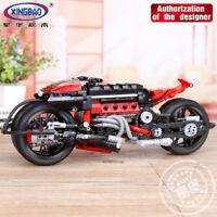 Xingbao Spielzeug Genuine 680Pcs Technische Bausteine road Motorcycle Modell