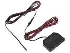 12V MINI-AMP 4m Kabel 6-fach Verteiler + Stecker Anschlusskabel Adapter schwarz