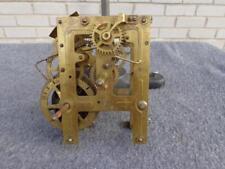 American Unmarked Pendulum Wall Shelf Clock Movement Clock Parts Restore