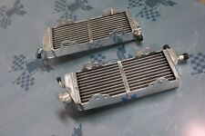 Fit TM Racing EN/MX 125/144/250/300 2008-2014 Braced Aluminum Alloy Radiator