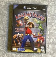 Amazing Island Nintendo Gamecube *Missing Manual* FREE SHIP! Sega 2004