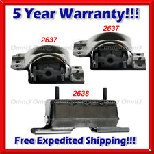 M381 For 1992-1999 Chevy/GMC K1500 Suburban 5.7L 6.5L 4WD Motor & Trans Mount