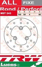 Disque de frein Avant TRW Lucas MST243 Generic 50 Trigger D01 2002-