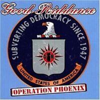 "GOOD RIDDANCE ""OPERATION PHOENIX"" CD PUNK NEW"