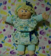 1983-84 Cabbage Patch Kids Girl Doll Long Lemon Loops Blue Eyes HM3 OK Factory