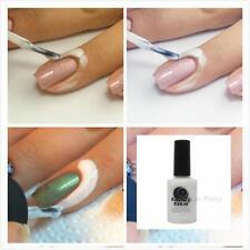 White paste Nail polish spill-proof glue Nail tools Supplies Nail Polish 15ML