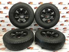 Toyota Hilux Hl2 Set of steel wheels Toyo Open Country AT + 205 r16c 2006-2015