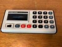 Vintage 1974 Casio Mini CM-605 Calculator - Tested working