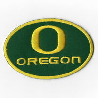 NCAA Oregon Ducks Football Iron on Patches Embroidered Patch Badge Applique Word