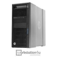 HP Z840 Workstation 2x Xeon e5-2637v3 RAM 128gb Quadro K4200 + SSD 512GB + HDD