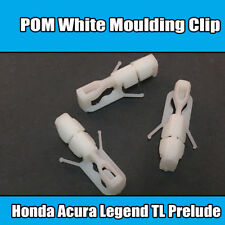 10x For Honda Acura Legend TL Prelude White Moulding Clip 90666-SS0-003 A19740