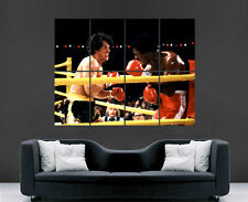 ROCKY poster film Apollo Creed BOXE MOVIE FILM classico Stampa Art Foto