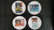 Pottery Barn TMC Turner Classic Movies Archives S/4 Coasters