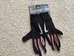 Nike Dry Lightweight Womens Running Gloves-BNWT-Size-XS