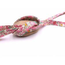 Biais Liberty of London Betsy Ann Sweet Pink, au mètre - Neuf