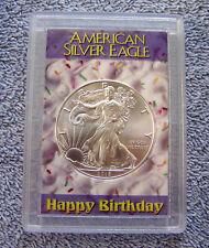 2018 American Eagle Silver Dollar & Happy Birthday Case #1