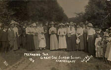 Great Oak, Eardisley. Sunday School Anniversary 1913. Tea by Yates, ( Kington ).