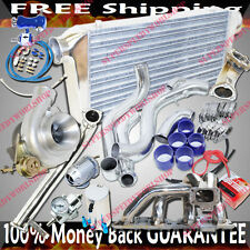 Upgrade Turbo Kits GT3076 Turbo for 95-98 Nissan 240SX S14S15 SR20 BOTTOM MOUNT
