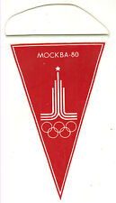 XXII Moscow-1980 Olympics Games LOGO Pennant