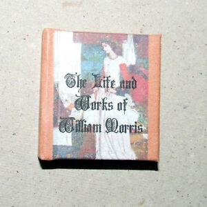 Dollshouse Miniature Book - William Morris