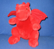ORIGINAL VERSION TY Y DDRAIG GOCH the DRAGON BEANIE BUDDY - UK EXCL - MINT TAGS