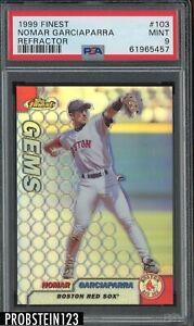 1999 Finest Refractor #103 Nomar Garciaparra Boston Red Sox PSA 9 MINT