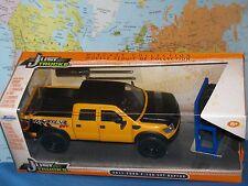 1/24 Jada Sólo vagones 2011 Ford F-150 SVT Raptor amarillo 4x extra rueda de