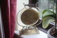 Antique Brass Dinner Gong & Striker by William Tonks & Sons